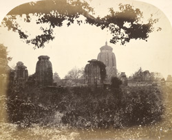 Lingaraja Temple and group to the west, Bhubaneshwar
